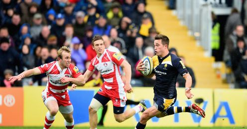 Rugby union Alex Grove Worcester Warriors Aviva Premiership Gloucester Rob Cook