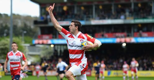 Rugby union Aviva Premiership Gloucester Jonny May