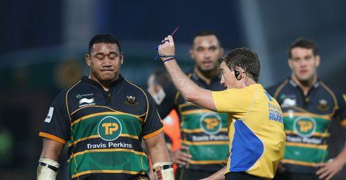 Salesi Ma'afu Northampton Rugby union