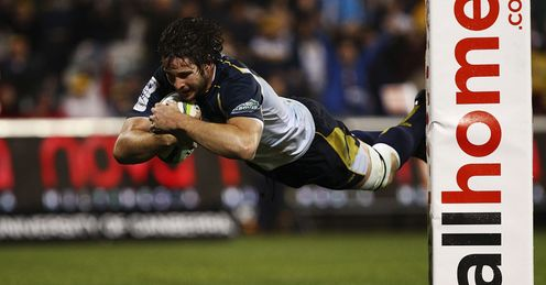 Sam Carter try Brumbies Super Rugby