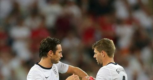 Lampard and Gerrard: have both retired from international football