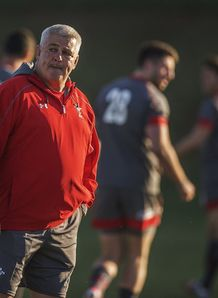 warren gatland wales training