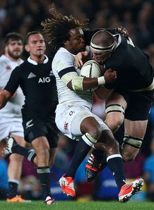 Brodie Retallick NZ v England 2014