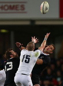 Corey Jane Mike Brown NZ V England Test 2014