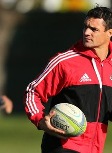 Dan Carter Crusaders training SR 2014