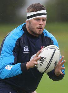 Ed Slater England training