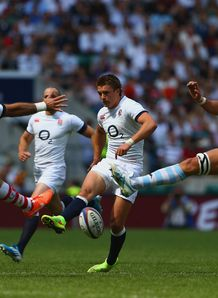 England fly half Henry Slade against the Barbarians