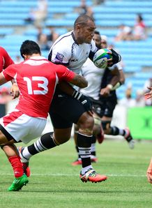 Fiji back Nemani Nadolo against Tonga in 2013 Pacific Nations Cup