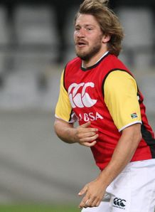 Francois Steyn SA training 2012