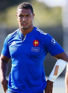 French captain Thierry Dusautoir L training session