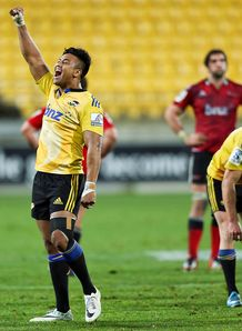 Julian Savea Hurricanes celeb