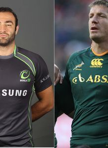 Mamuka Gorgodze v Bakkies Botha World XV v South Africa