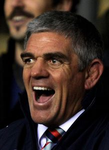 Nick Mallett the coach of the Southern Hemisphere XV