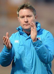 Nick Walshe England U20 coach 2014