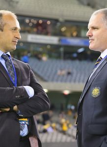 Phillipe Saint Andre and Ewen McKenzie Fra v Aus June 2014