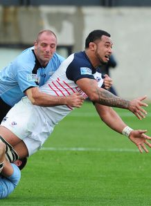 Samu Manoa USA v Uruguay RWC qualifier 2014