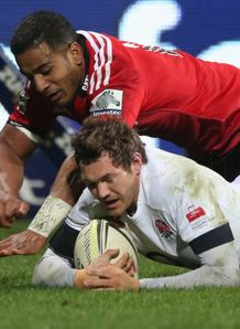 alex goode scores for england v crusaders