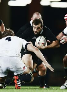 Conrad Smith New Zealand All Blacks Eden Park Auckland England