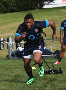 RUGBY RUGBY UNION KYLE EASTMOND, ENGLAND TRAINING