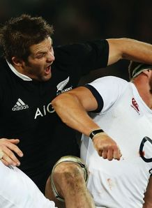 England New Zealand second Test Dunedin Tom Wood Richie McCaw
