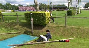 Drama at Hickstead