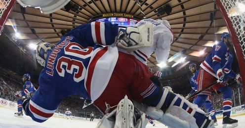Rangers goalie Henrik Lundqvist has conceded just 39 goals in 20 games