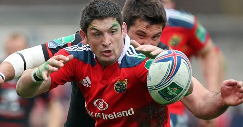 Glasgow sign Munster's Downey