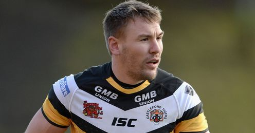Michael Shenton Castleford Tigers 2014