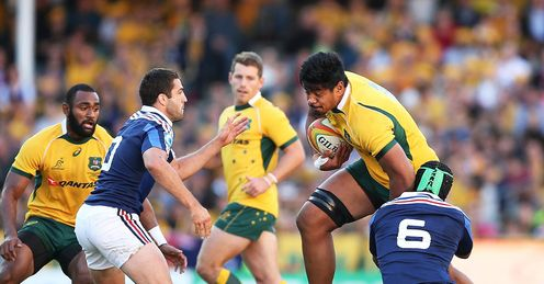 Will Skelton Australia France 3rd test 2014