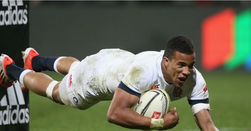 ANTHONY WATSON ENGLAND TRY V CRUSADERS