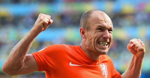 Arjen Robben admitted to diving during Netherlands' win over Mexico
