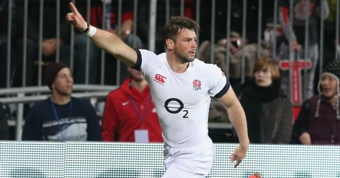 BEN FODEN ENGLAND TRY V CRUSADERS