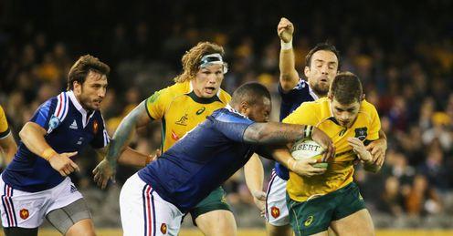 Bernard Foley Australia rugby union