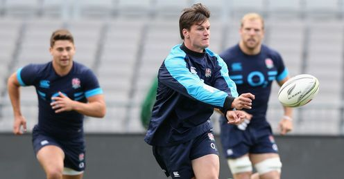 Freddie Burns impressed in the 20-15 defeat to New Zealand