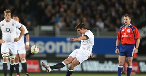 Freddie Burns England Eden Park Auckland New Zealand