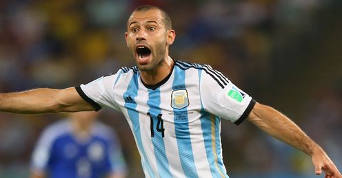 Javier Mascherano: not a midfield magician, but could be a World Cup winner