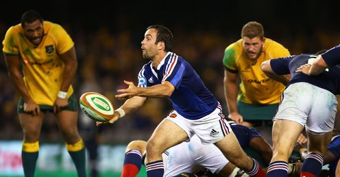 Morgan Parra France rugby union