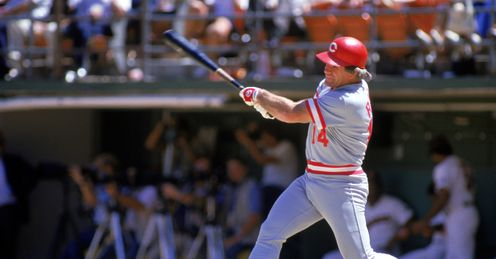 Pete Rose: The Cincinnati Reds star may be an all-time great hitter but never made the Hall of Fame