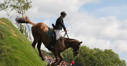 The Derby Bank: who will scale the heights of Hickstead's most famous fence?