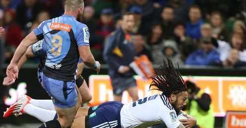 UNION Ma'a  Nonu Blues Super  Rugby