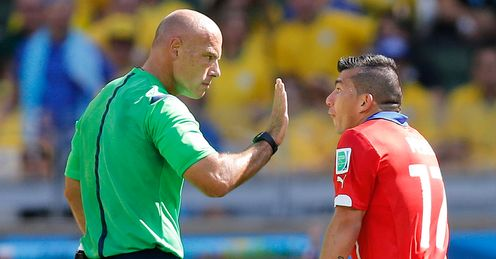 Howard Webb was decisive in Belo Horizonte on Saturday, says Martin