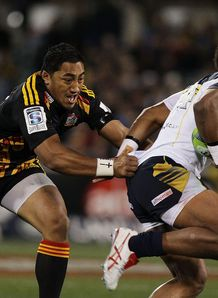 Brumbies wing Henry Speight against the Chiefs