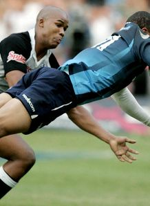 Bryan Habana scoring for Bulls in 2007 Super Rugby Final