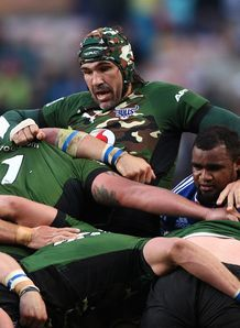 Bulls lock Victor Matfield against the Stormers