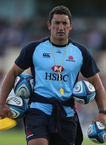 Daryl Gibson Waratahs backs coach SR 2013