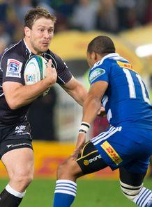 Francois Steyn Sharks Super Rugby v Stormers 2014