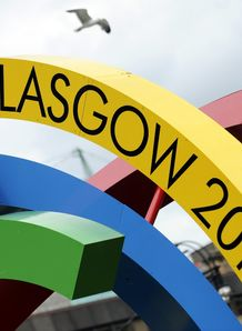 Glasgow 2014 Commonwealth Games sign