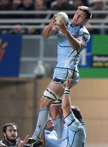 James Down Cardiff Blues 2012