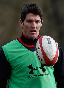 James Hook Wales training 2013