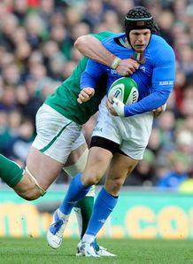 Kris Burton Italy v Ireland SN 2012